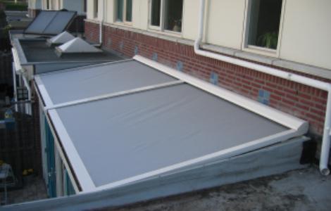 roldeuren met ventilatie profiel